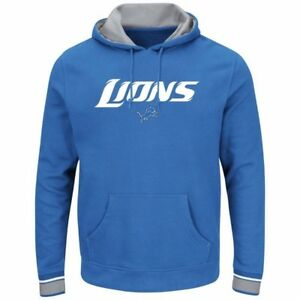 Image is loading Detroit-Lions-Championship-Pullover-Hoodie-Blue-Plus-Sizes-
