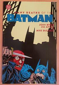 BATMAN-THE-MANY-DEATHS-OF-THE-BATMAN-VF-1992-DC-COMICS-TPB-GRAPHIC-NOVEL
