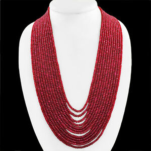 AMAZING-1258-30-CTS-NATURAL-12-STRAND-RUBY-ROUND-SHAPED-BEADS-NECKLACE-RS