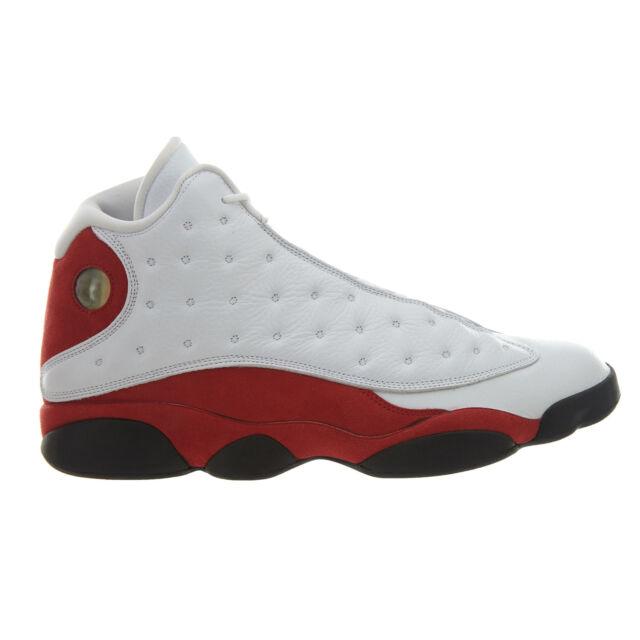 on sale 6cba4 5de28 Nike Air Jordan 13 XIII Retro Size 11.5 White Black Team Red 414571 122
