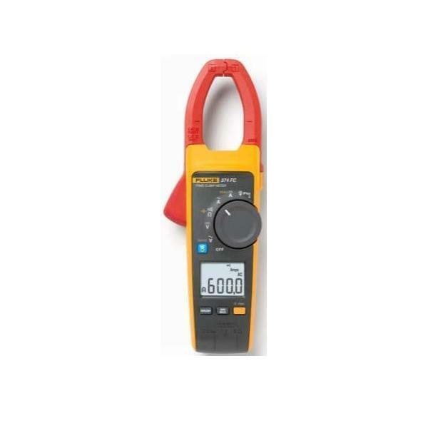 Fluke Strommesszange 600A AC DC FLUKE-374 FC Zangenmessgeräte 4696001