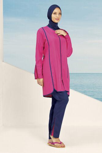 H-244 Hasema Burkini Badeanzug Hijab Tesettürmayo Bademode Swimwear