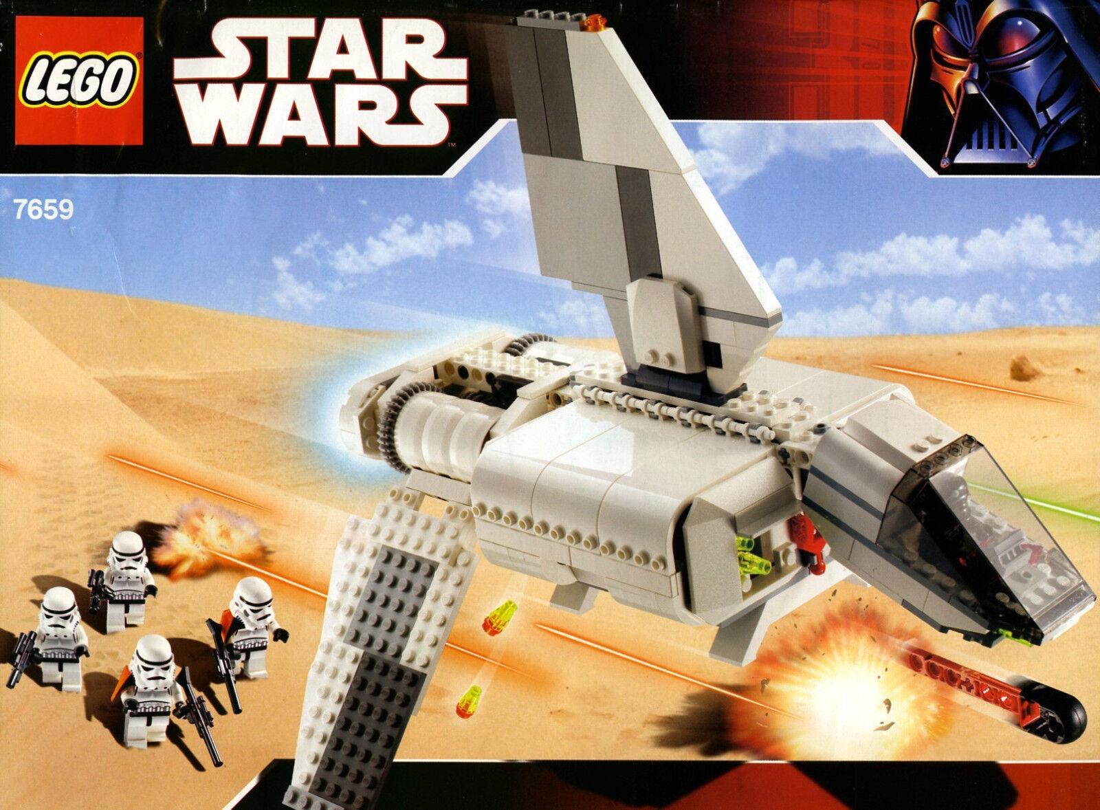 Lego 7659 Star Wars Imperial Landing Craft  Sealed Box