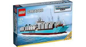 Lego® Creator Expert 10241 Maersk porte-conteneurs Neu_maersk Line Triple-e Nouveau