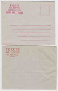 CANADA-POSTAL-STATIONERY-COLLECTION-LOT-2-MINT-FORCES-AIR-LETTERS