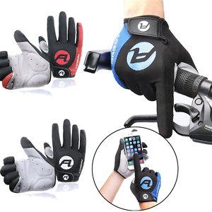 Full-Finger Racing Motorcycle Cycling Gloves Bicycle MTB Bike Touchscreen Gloves