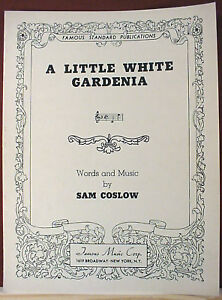 """a Little White Gardenia"" From ""all The King's Horses"" (1935 Movie)"