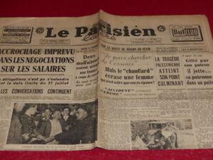 PRESSE-WW2-APRES-GUERRE-034-LE-PARISIEN-LIBERE-034-894-1er-AOUT-1947