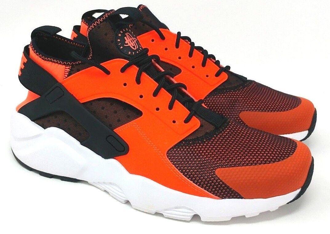Nike Air Negro huarache Run ultra Tamaño Negro Air / total de Crimson Blanco 6d5cc9