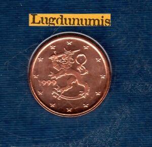 Finlande 1999 1 centime d'euro BU FDC sous scéllé provenat coffret BU
