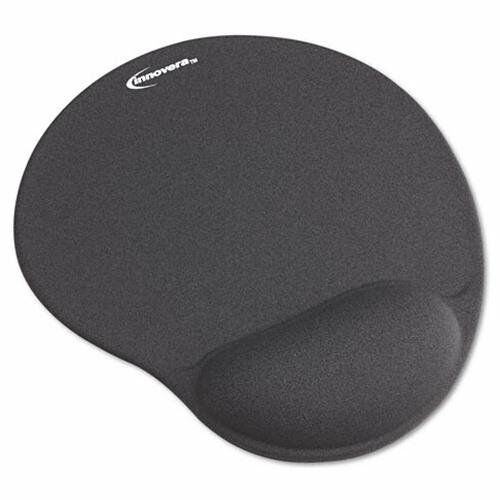 Gray INNOVERA 50449 Mouse Pad W//gel Wrist Pad Nonskid Base 10-3//8 X 8-7//8