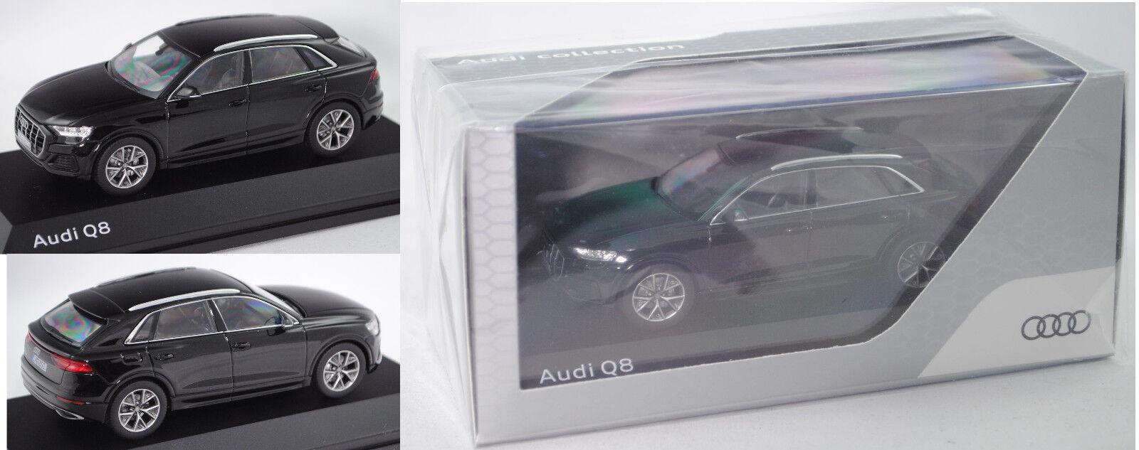 NOREV 5011708632 Audi q8, orcanoir, 1 43