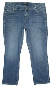 Lane-Bryant-Womens-Jeans-Plus-Size-22-Average-Straight-Stretch-Denim