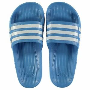 NEW Adidas Mens Duramo Sliders Flip