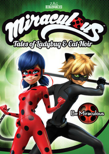 Miraculous: Tales Of Ladybug And Cat Noir: Be Miraculous [New DVD] Widescreen