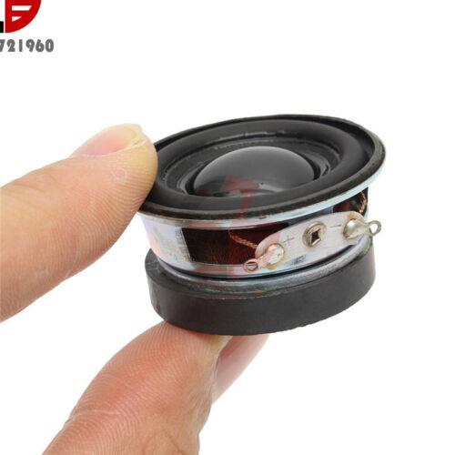 2PCS 4 Ohm 3W Acoustic Speaker 40mm Speaker 36mm Magnetic Outdoor Black Hat PU