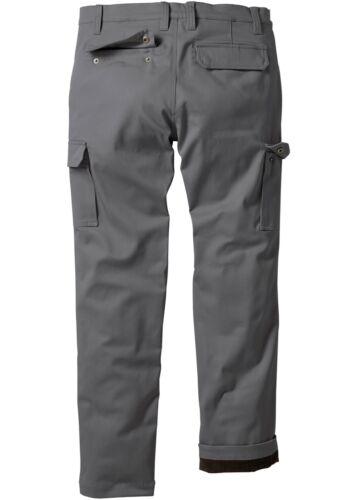 Thermo-Cargo Pantaloni Regular Fit Straight