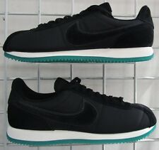Men's Nike Cortez Basic LHM QS Sneakers, New Black Green Sport Walking Shoes 12