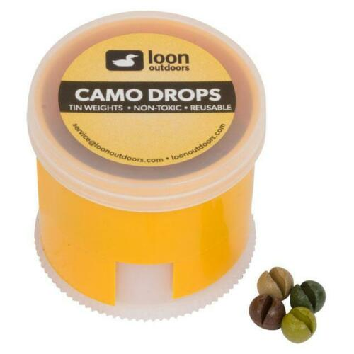 Loon outdoors Camo Gouttes Split ShotTwist Pot-no AB