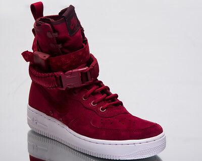 Nike Sf Air Force 1 Damen Lifestyle Schuhe Rot Crush Weiß Sneakers 857872 601 | eBay