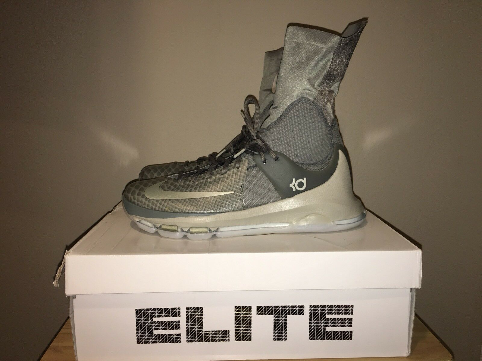 The most popular shoes for men and women Nike KD 8 Elite Gray Shoes 834185 001 Grey Men's 11.5 New With Box MSRPPrice reduction