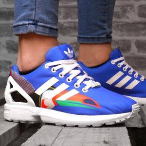 Details zu ADIDAS ZX FLUX W Damen Schuhe Sneaker adv eqt FARM nmd Kinder Shoe blauweiß NEU