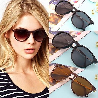 Unisex Womens Mens Retro Vintage Cat Eye Round Glasses Metal Frame Sunglasses YS