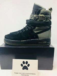 Nike-Air-Force-1-SF-Special-Field-Black-Olive-AF1-864024-004-Size-8-10