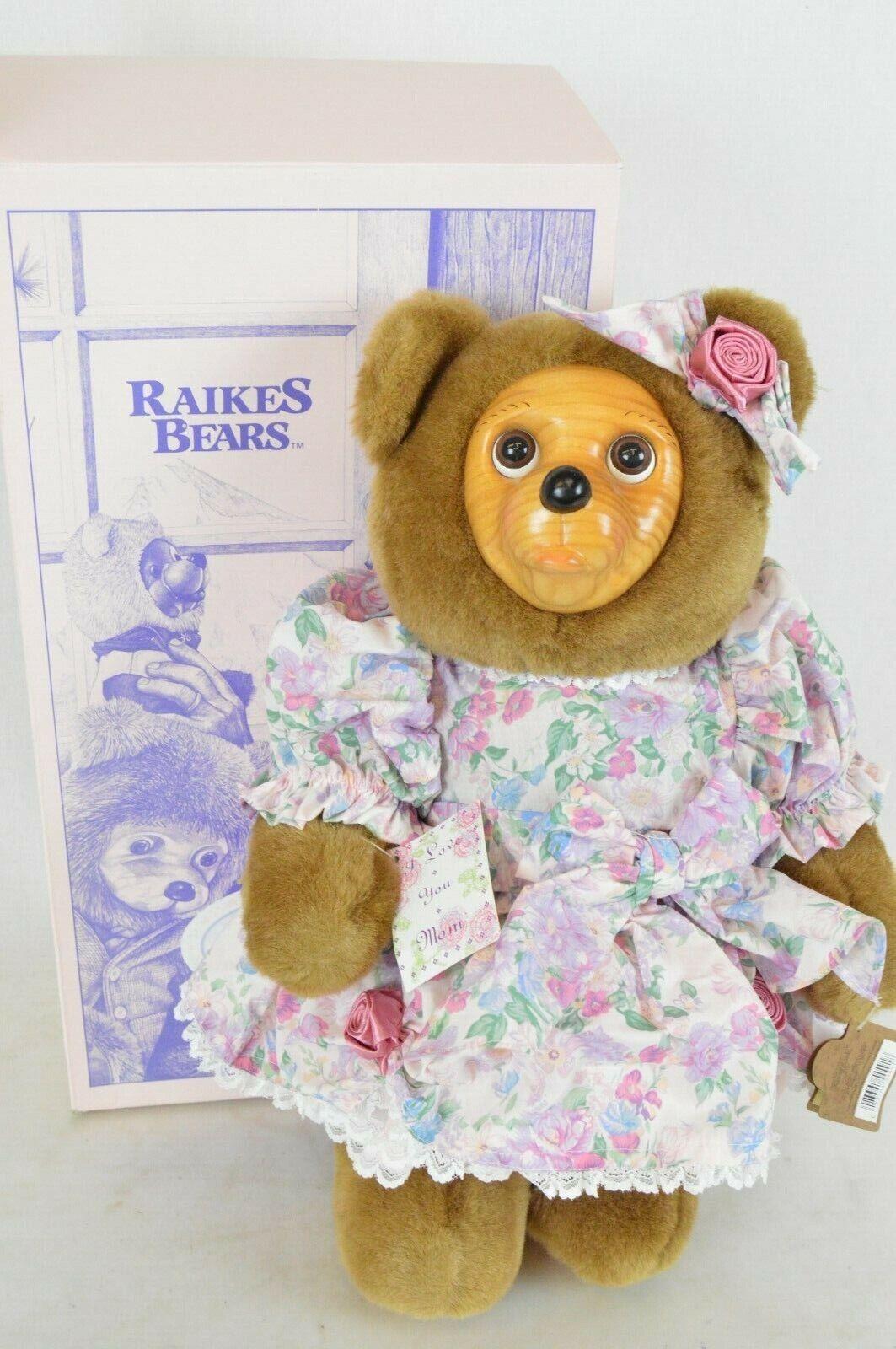 Robert Raikes Signed 1993 SOPHIE - MOTHER'S DAY BEAR w tags, original box & COA