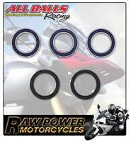 Yamaha YZ250 2T 2012 All Balls Rear Wheel Bearing & Seal Kit 8631399