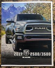2017 Dodge Ram 2500 3500 Original Sales Brochure Catalog NEW