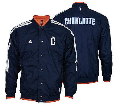 Adidas NBA Youth Charlotte Bobcats On Court Reversible Jacket