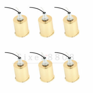 6pcs-E27-Ceramic-Screw-Base-Round-Light-Bulb-Lamp-Socket-Holder-Adapter
