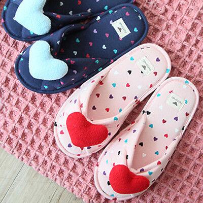 Cutie Heart womens slippers mens slippers slippers flops sandals pajamas indoor