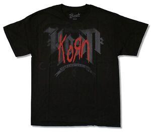 8502eefc86 A imagem está carregando Korn-Bakersfield-Ca-logotipo-vermelho -da-California-Preto-