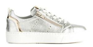 NERO-GIARDINI-TEEN-P930930F-scarpe-donna-sneakers-pelle-zeppa-stringhe-casual