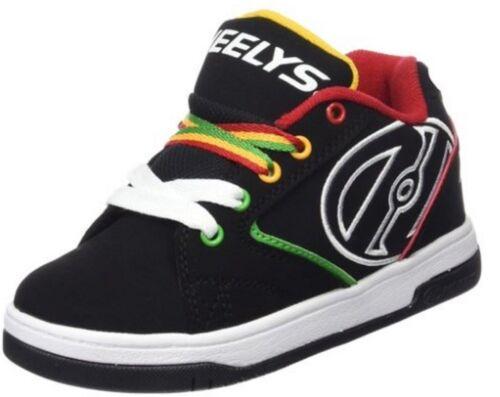 Heelys Propel 2.0 Black//Reggae Skate Shoe