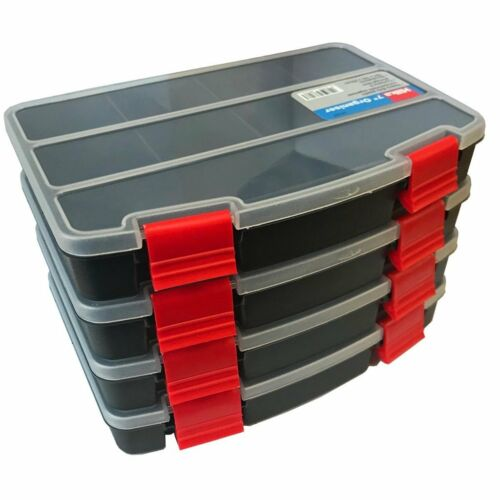 """Parts Hilka 7/"""" Tool Organiser Compartment storage Trays pack of 4 Fishing"""