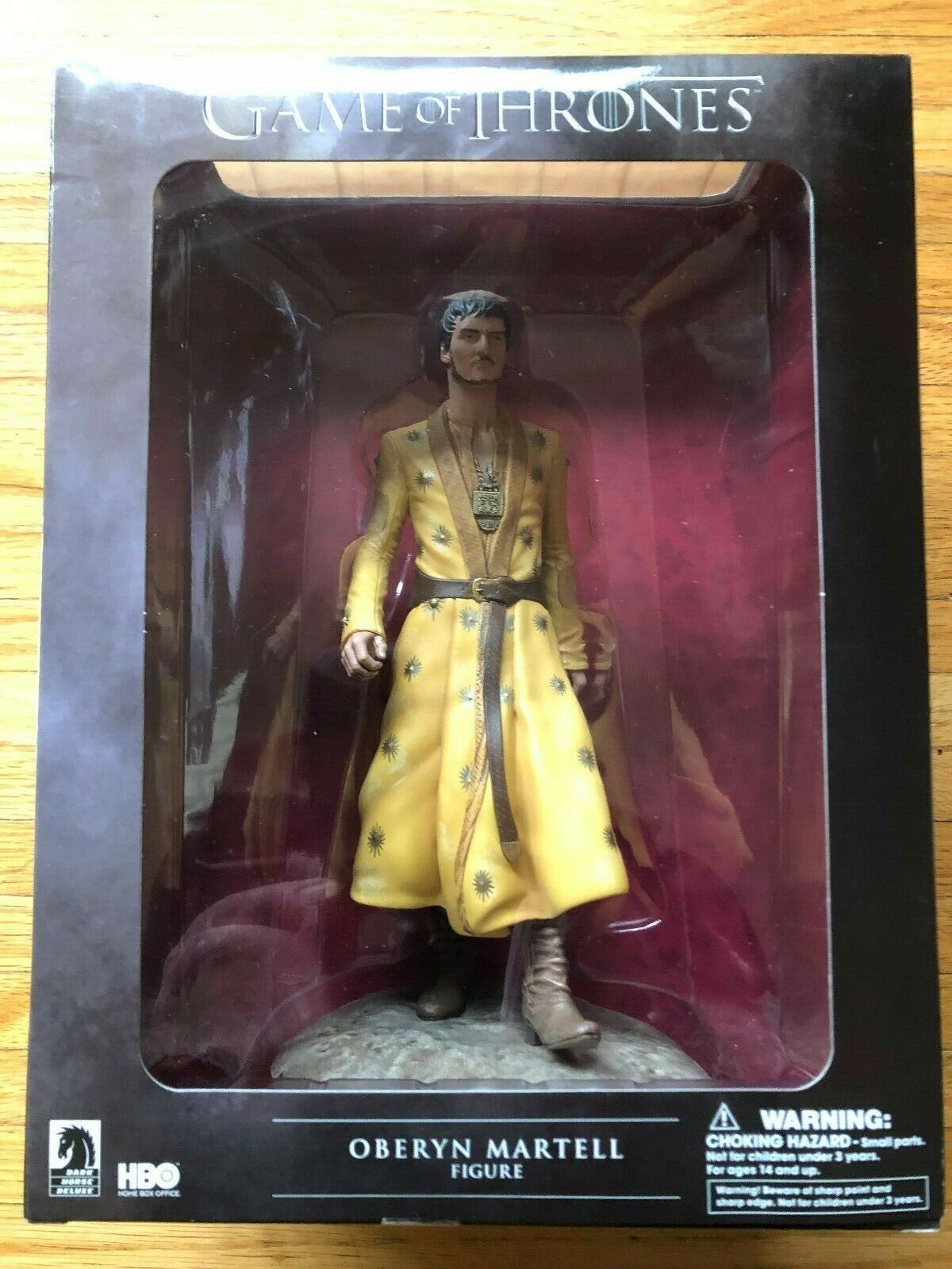 Dark Horse Deluxe gioco of of of Thrones cifra..OBERYN MARTELL.. scatola NEVER OPENED 659115