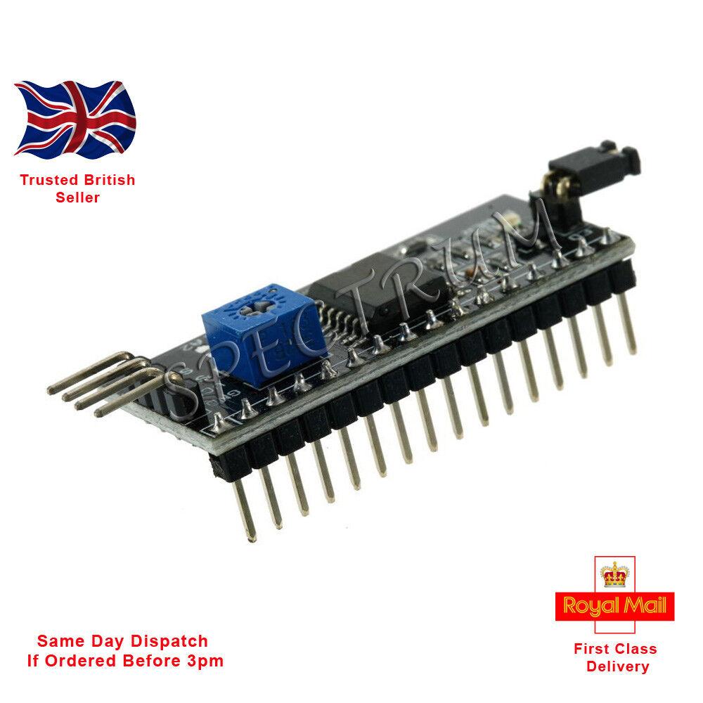 10pcs IIC//I2C//TWI//SPI Serial Interface Board Module Port Arduino 1602LCD Display