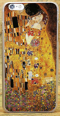 Kiss by Gustav Klimt Art Style Case Cover Funda Shell Coque For All Phone Models