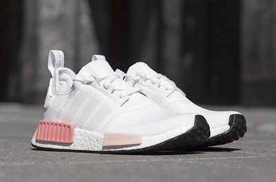 pretty nice 6f11e c1800 ADIDAS NMD R1 SHOES ICEY PINK BY9952 US WOMENS SIZE | eBay
