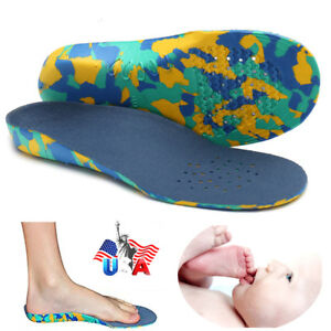 CFR-Kids-Children-Insoles-EVA-Arch-Support-Plantar-Orthotic-Orthopedic-Shoe-US