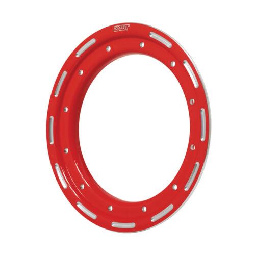"DWT Alumilte Rok/'N Lock G2 G3  Replacement Beadlock Ring 10/"" Red"