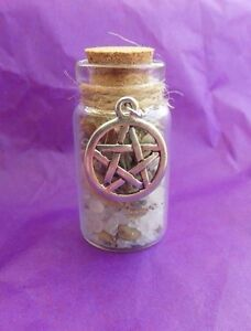Details about Witch Bottle spell Kit for Luck and Good fortune  Magical  Herb Spell Talisman