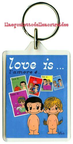 Love is L/' amore é album figurine panini prima edizione 1977 vintage Portachiavi