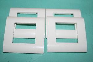 lot de 4 plaques mosaic 45 legrand 750 02 75002 ebay. Black Bedroom Furniture Sets. Home Design Ideas