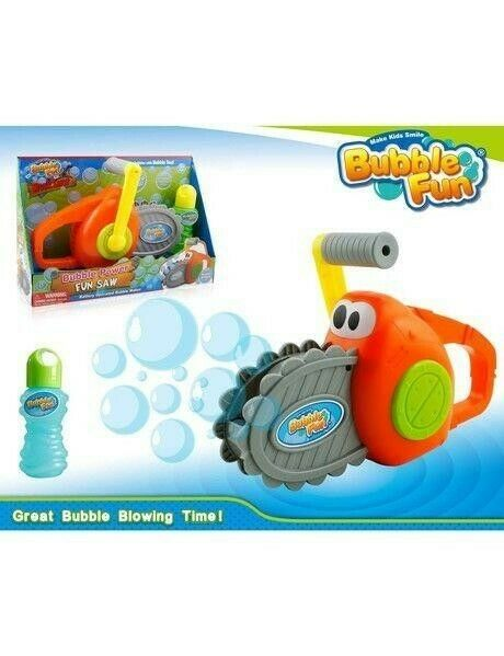 Bubble Chainsaw Toy