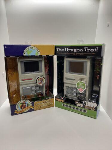 NEW The Oregon Trail The Classic Computer Game /& Carmen Santiago Portable Games