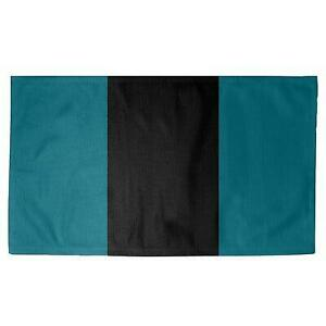 East Urban Home NHS National Hockey Stripes Deep Pacific Teal Area Rug Canada Preview